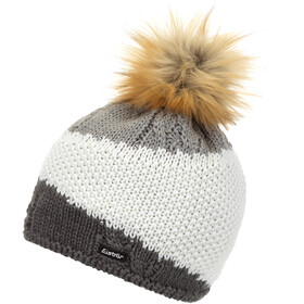 Eisbär Eden Lux Crystal Cappello Donna, anthracite/white/grey mottled